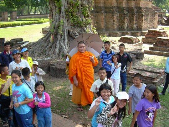 Tajlandia- szkoła na świeżym powietrzu