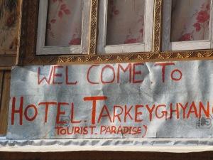 Witamy w Hotelu Tarkeyghyan - raju turystów