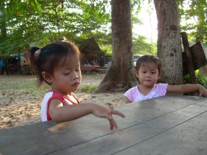 Dziewczynki z Tajlandii