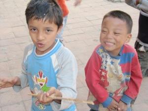 Chłopcy z Nepalu